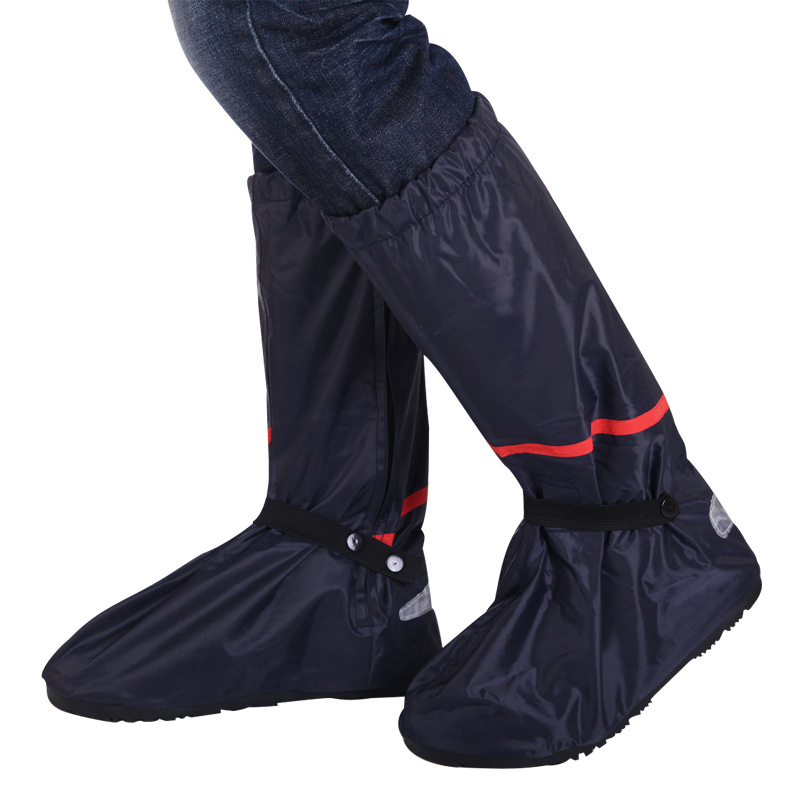 Reusable Waterproof Overshoes Mens Motorcycle Cycling Rain Boot Non-slip Shoe Covers Wear Shoes Protector Accessories Wholesale