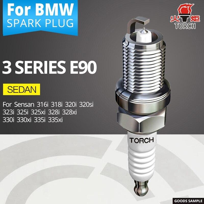 TORCH Spark Plugs For BMW 3 Series E90 Sedan 316i 318i