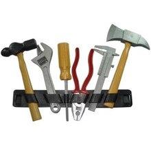 6 шт./компл. дома ручной Инструменты для ремонта Игрушки для маленьких детей раннего обучения Образование Пластик Творческое моделирование строительного инструмента Наборы