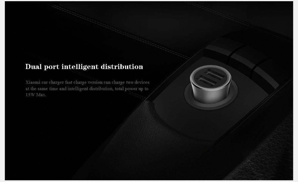 Xiaomi MI Car Charger 18W d03