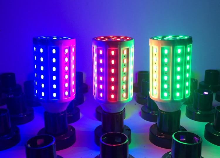 <font><b>LED</b></font> <font><b>Grow</b></font> Light Red Blue Green Corn Light E27 B22 bulb AC 110V 220V DC12V 24V SMD 5730 Growing Lamp for Greenhouse