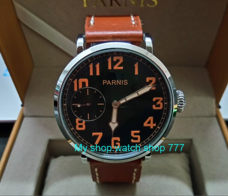 46mm parnis Black dial Asian 6497 17 jewels Mechanical Hand Wind movement men watch luminous Mechanical watches zdgd190a 46mm parnis black dial asian 6497 17 jewels mechanical hand wind movement men watch luminous mechanical watches zdgd60a