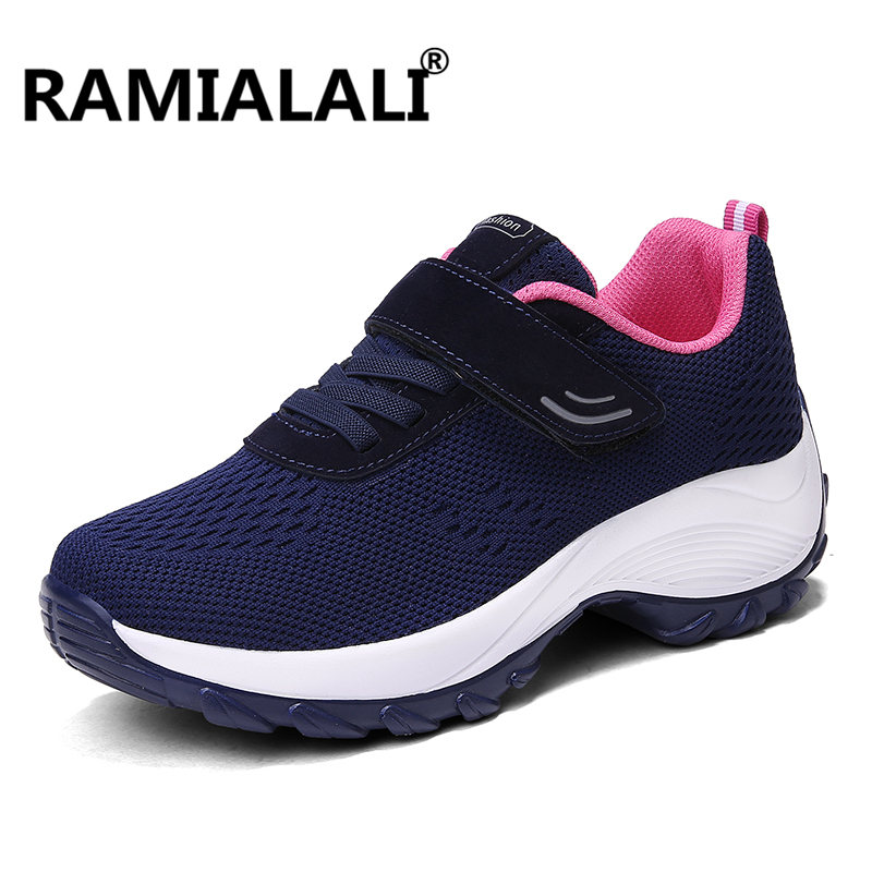 Women Hiking Shoes Low-cut Sport Camping Shoes Breathable Hiking Boots Athletic Outdoor Shoes for Women Big Size 35-42