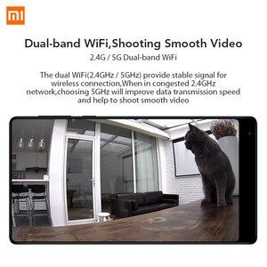 Image 5 - Xiaomi Mijia 1080P IP kamera 130 derece FOV gece görüş 2.4Ghz Xiaomi ev kiti güvenlik monitörü CCTV