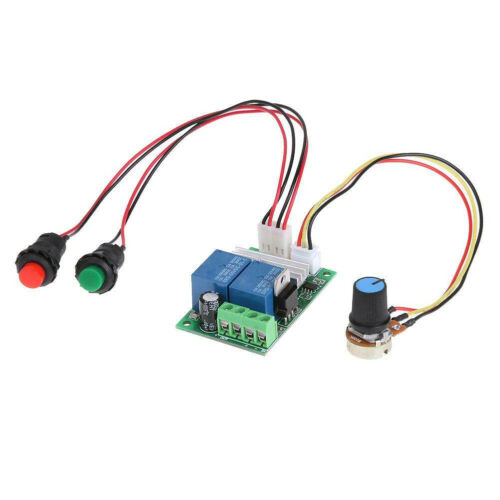 3A 6V-24V DC Motor Speed Control Controller PWM Regulator Reversible Switch
