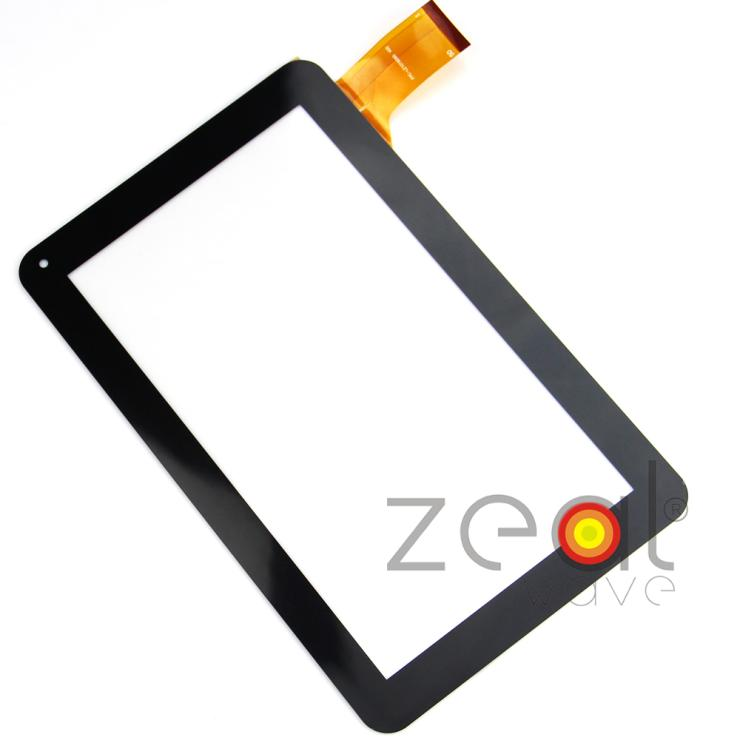 Free Shipping 9 Inch Black FPC-LZ1016090 V00 Capacitive Screen Tablet Touch Screen Panel Digitizer Glass black capacitive touch screen digitizer glass 9 7 inch tablet touch panel replacement ad c 971242 fpc free shipping