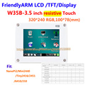 FriendlyARM W35B , 3.5 inch Touch Screen Resistance Touch Display TFT , For MINI2440 MICRO2440 S3C2440 board
