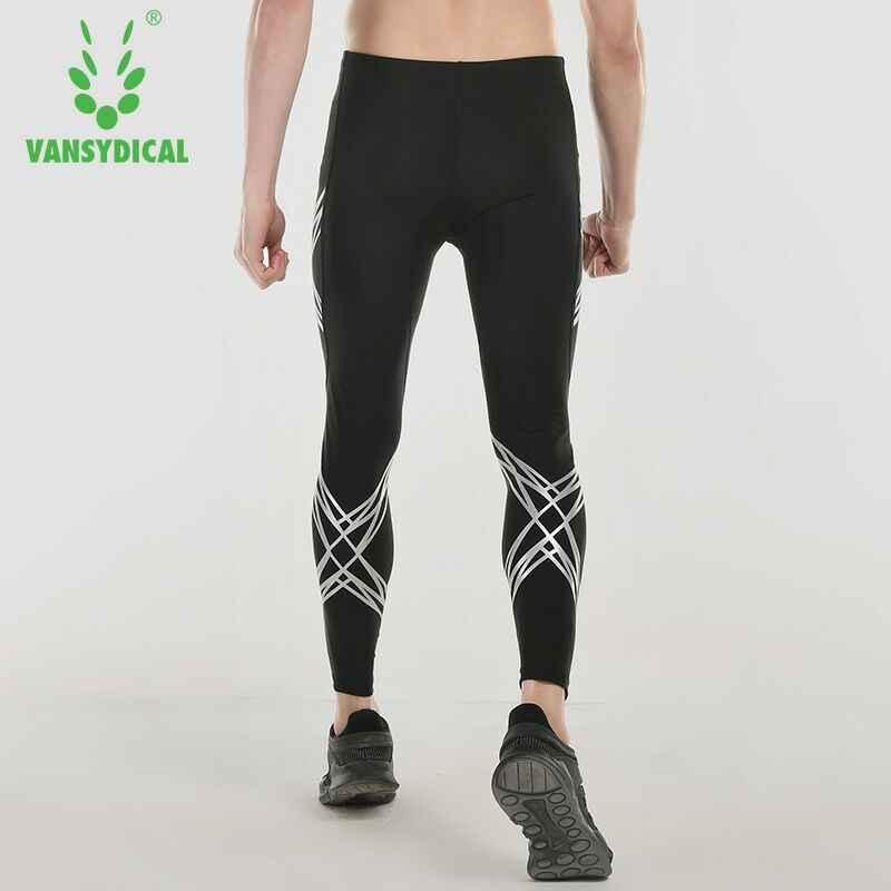 d8262b2339c448 ... Vansydical Men Compression Running Pants Fitness Sports Leggings  Compression Tights Running Tights Workout Yoga Men Gym ...