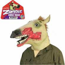 Free shipping Newest 2016 Hot Halloween animal masks realistic Zombie horse mask for party/Scary horse mask/Horse mask in stock