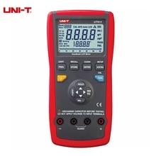 UNI-T UT611 UT612 LCR Medidor Digital Capacitancia de La Inductancia Resistencia Probador de Frecuencia Auto LCR Cheque Inteligente y Medición
