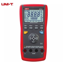 UNI-T UT611 UT612 LCR Digital Meter Inductance Capacitance Resistance Frequency Tester Auto LCR Smart Check and Measurement