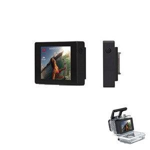 Image 5 - ل Gopro بطل 3 +/4 LCD Bacpac المشاهد رصد شاشة عرض الشاشة الخارجية مع LCD Backdoor الحال بالنسبة Gopro بطل 3 + 4 كاميرا