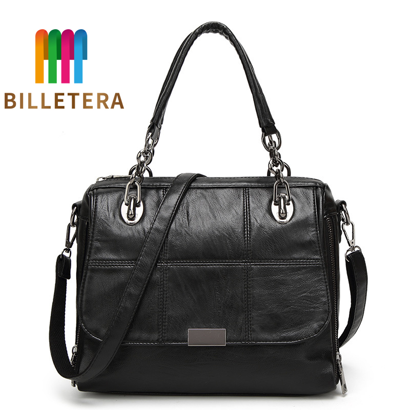 BILLETERA New Women Faux Leather Shoulder Messenger Cross Body Pure Style BagsBILLETERA New Women Faux Leather Shoulder Messenger Cross Body Pure Style Bags