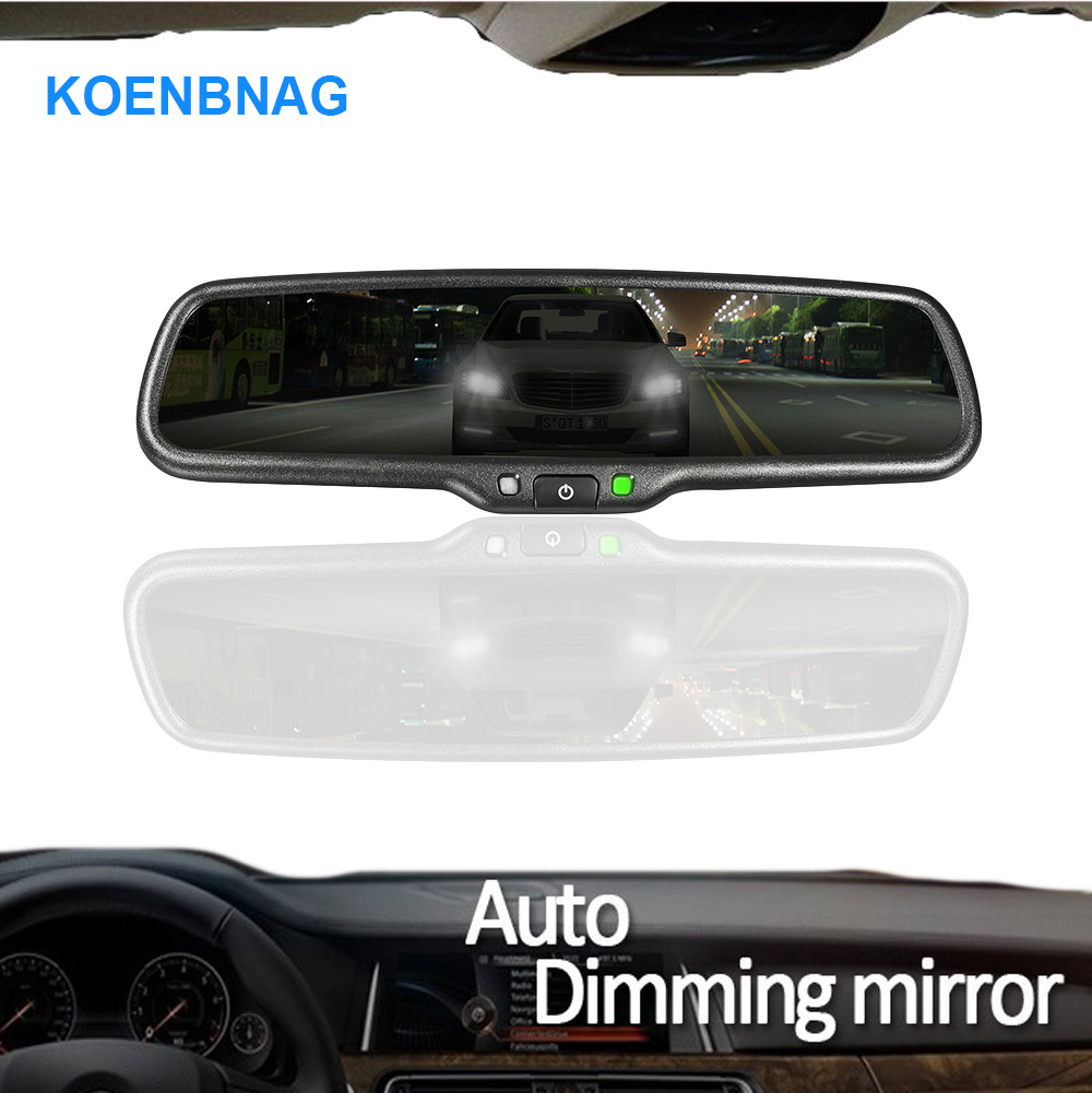 KOENBANG Special Bracket Car Electronic Auto Dimming Interior Rear View Rearview Mirror for Toyota Honda Hyundai Kia VW Ford anshilong oem car vehicle auto interior rear view mirror suitable for most of toyota ford nissan honda mazda buick cars