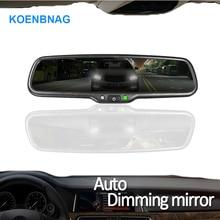 KOENBANG Special Bracket Car Electronic Auto Dimming Interior Rear View Rearview Mirror for Toyota Honda Hyundai Kia VW Ford