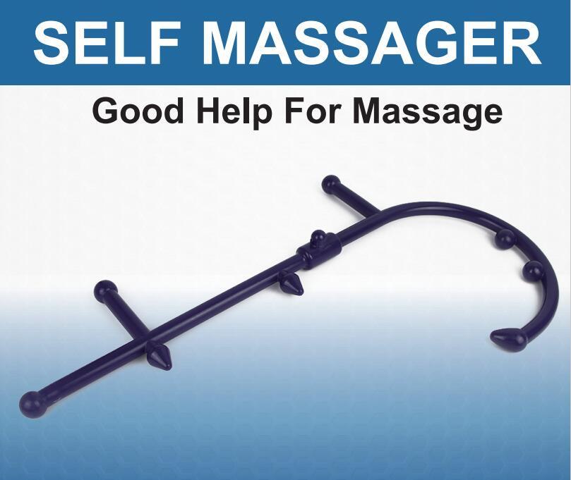 Massage Roller Stick Back Hook Massager Tool Massage Rod Neck Muscle Pressure Stick Self Massager Trigger Point Original Point 9