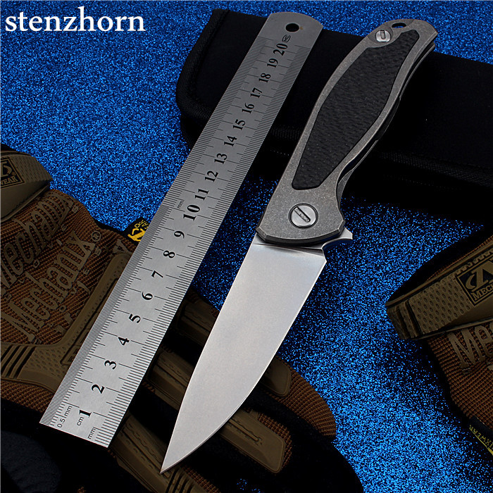 Stenzhorn 2017 Navajas Rushed New D2 Bearing Knife Self-defense Outdoor Folding With High Hardness Survival Fiber Mountain  цены