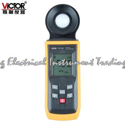 Fast arrival VICTOR illumination meter VC1010C photometric meter brightness table 200000Lux fast arrival victor illuminance meter vc1010b meter meter lumens tester illuminance meter brightness table