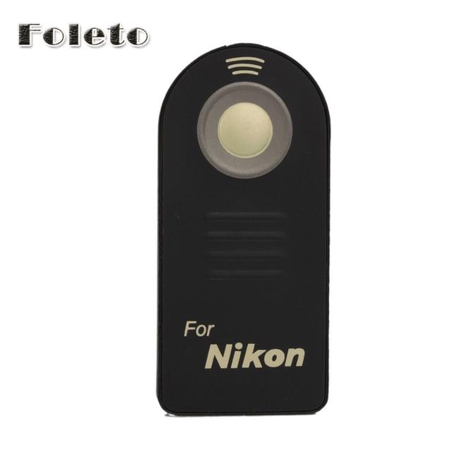 IR wireless   ML-L3 Remote Control shutter release For Nikon D7000 D5100 D5300 D3300 D90 D70 D3 D40 Camera IR Remote Control