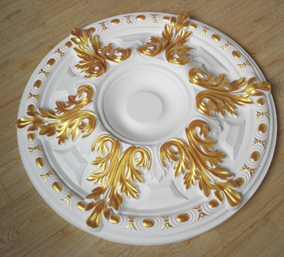 chandelier ceiling plate decor ceiling rosette D800mm PU decorative ceiling rose pendent l& base panel-in L& Bases from Lights u0026 Lighting on ... & chandelier ceiling plate decor ceiling rosette D800mm PU decorative ...