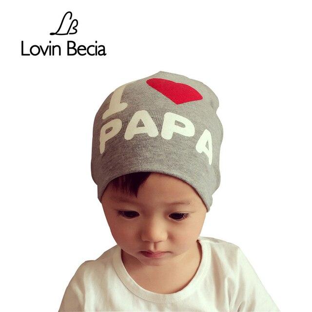 Lovin becia Лидер продаж Весенние шапки для детей теплый хлопок с принтом Детские Hat малышей новорожденных дети мальчик Шапки Девочки Infantil Beanie