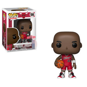 Exclusive Official Funko pop Sports: Basketball Player Jordan (Rookie Jersey) #56 Vinyl Action Figure Collectible Model Toy