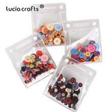 1Bag 8-34mm Resin Sewing Buttons Craft Two Holes/Four Holes Mix DIY Handmake Sewing Children's Apparel Scrapbooking Accessories(China)