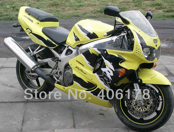 96 97 CBR 900 RR Fairing kit For CBR900RR 893 1996 1997 CBR 900RR Yellow and Black Sport Motorcycle Fairings
