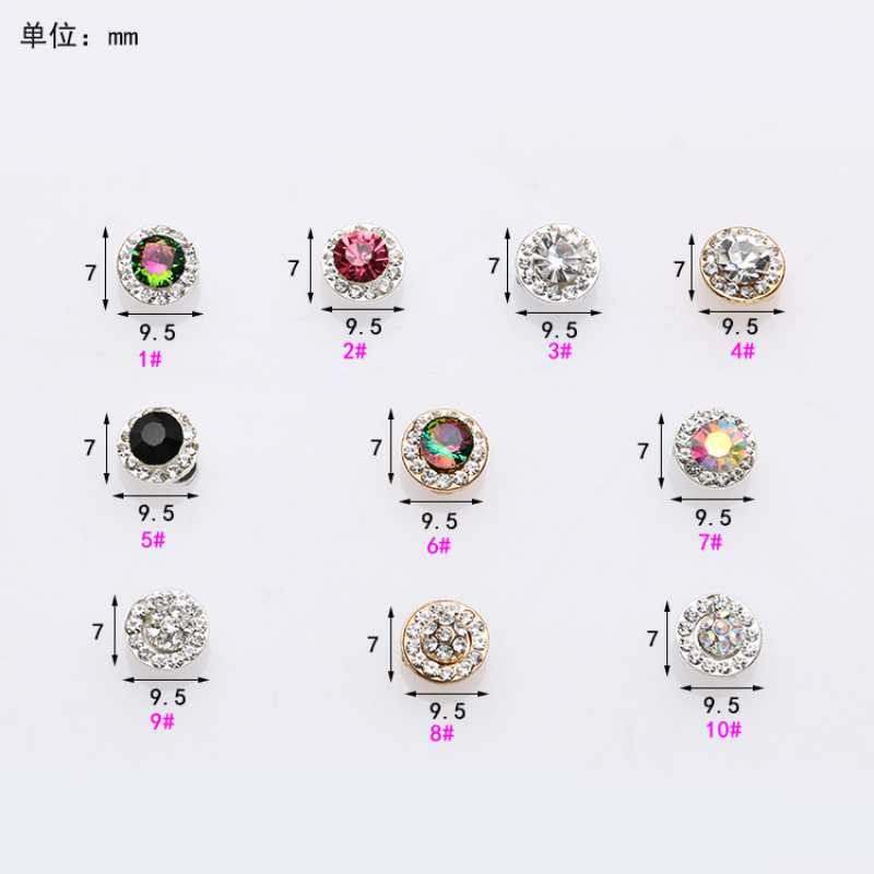 Free Shipping Lucky Rotatable Metal Crystal Nail Arts 100pcs/bag 3D Deco Ongle Stras Glitter Rhinestone Nail Art Rhinestones ss16 1440pcs bag hot selling nail art tips gems crystal glitter rhinestone diy decoration nail size 3 8 4 0mm free shipping