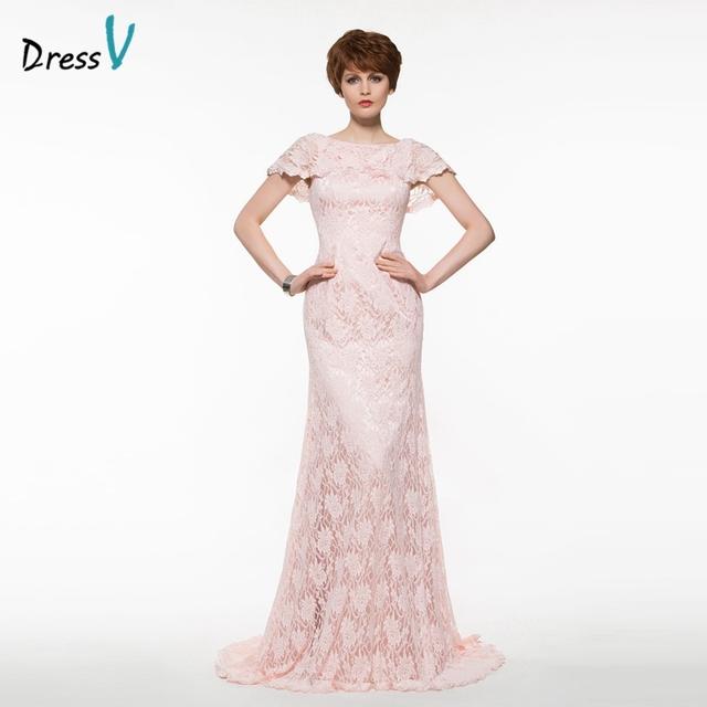 Dressv rosa laço longo mãe do vestido de noiva do pescoço da colher botão rendas em camadas vestido de festa de casamento rosa mãe dos vestidos de noiva vestido