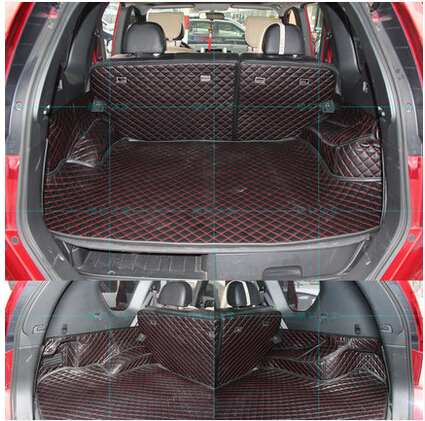 Image 2 - High quality Good quality Special trunk mats for Nissan X trail T31 5seats 2013 2007 waterproof boot carpets for XTRAIL 2011