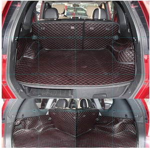 Image 2 - Hoge kwaliteit Goede kwaliteit Speciale kofferbak matten voor Nissan X trail T31 5 zetels 2013 2007 waterdichte laars tapijten voor XTRAIL 2011