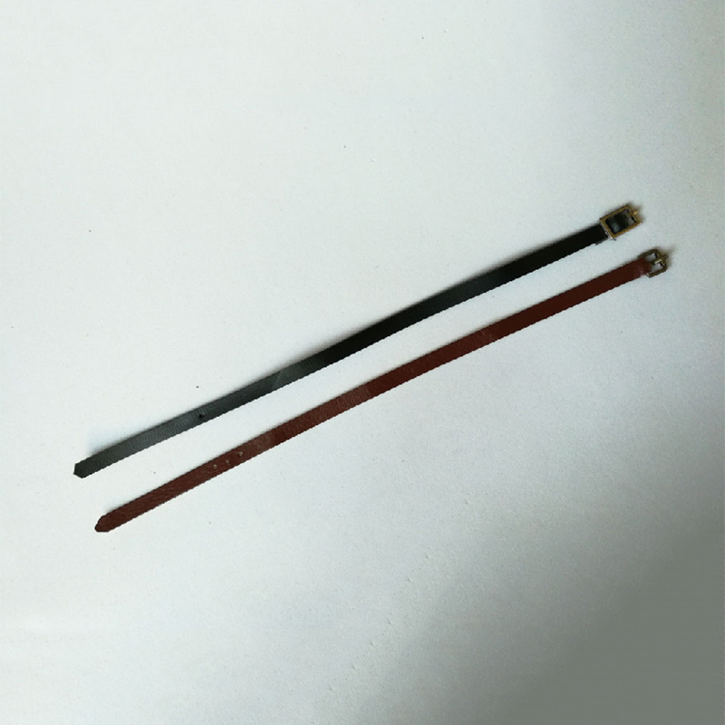 1/6 Scale Black and Brown Color Leather Belt Models for 12 Figures Bodies Accessories