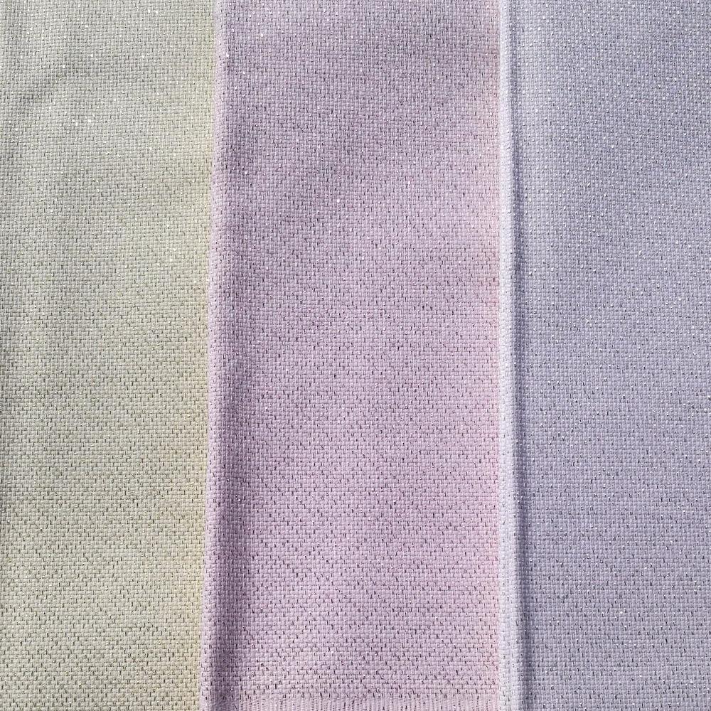 30X80CM 14ct white cloth silver line gold line blue pink cross stitch fabric brilliant pearl canvas DIY handmade needlework