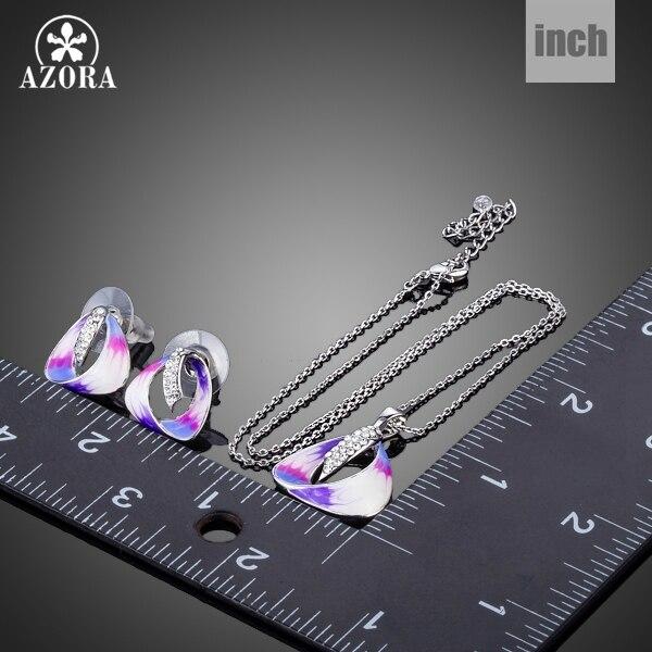ΑΖΩΡΑ Μοναδικό ελκυστικό σχέδιο - Κοσμήματα μόδας - Φωτογραφία 3