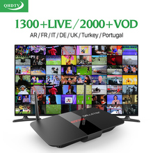 Dalletektv IPTV Arabe Europe Android TV Box Iptv Abonnement 1 An QHDTV Code Abonnement Français Allemagne Turc IPTV Top Box