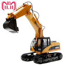 1 50 Engineering Crawler Excavator Truck Toys Alloy Construction Vehicle Model Creative Gifts For Children Boys