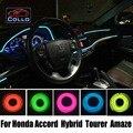 Новые EL Провод Для Honda Accord/Hybrid/Tourer/Тип S/Amaze/Украшение Автомобиля Холодный Свет Лампы Атмосфера 9 М В набор