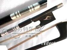 eine Qualität geigenbogen kohlefaser geigenbogen aus ebenholz silveryarn horseshoers