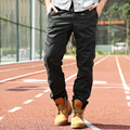 Mid-waist Good Quality Military Pants Men Casual Cotton Calca Masculina