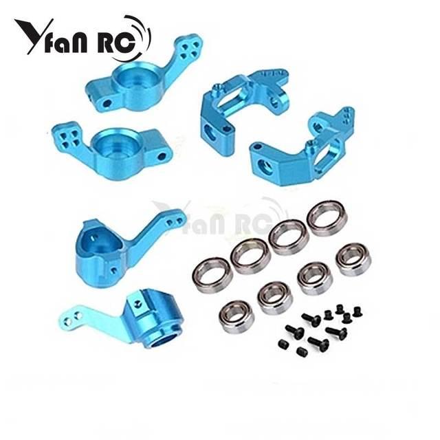 HSP brontozaur części zamienne aluminium piasta kierownicy 102210 102211 102212 102010 102011 102012 do 1/10 RC monster truck Buggy