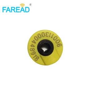 Image 4 - x150pcs free shipping ISO11784/85 round male tag FDX B ear tag for animal livestock management