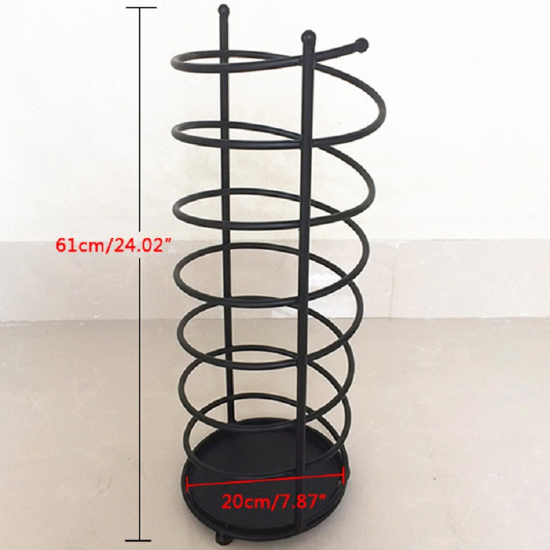 Umbrella Stand Parasol Holder Umbrella Rack Parasol Stand Home Hotel Creative Racks and Holders for Umbrella Black/White
