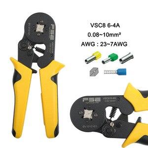 Image 5 - Обжимные клещи VSC8 6 4A VSC9 10 6A VSC10 16 4A 0,08 10 мм2 AWG 23 7, Обжимные Щипцы, обжимные клещи для трубки, обжимные клеммы, ручной инструмент