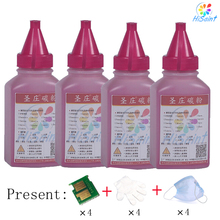 New Bottle Magenta Toner Powder Refill kit Color LaserJet CM1415fn MFP/CM1415fnw MFP/CP1525n/CP1525nw FreeShipping for HP CE323A