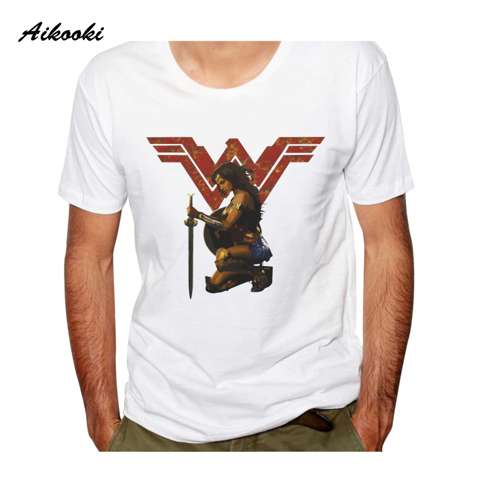 Ailooki горячей чудо-короткий рукав футболки Для мужчин Для женщин Модная Футболка Лето Хлопок Популярные Хип-хоп мужской женский уличная топы