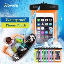 Tmalltide universal sacos de telefone casos bolsa com alça à prova d' água capas para iphone 6 5s 6 s 7 plus case capa(China (Mainland))