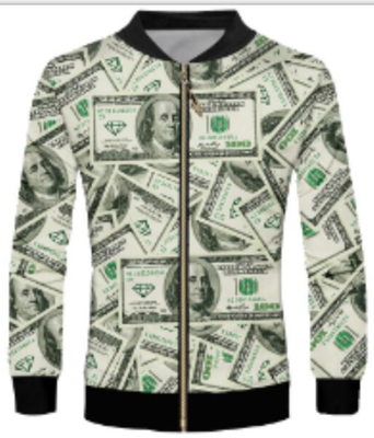 3 Styles Real American Size Salt-n-pepa-8-ball 3d Sublimation Print Zipper Up Jacket Pilot Bomber Jacket Coat Street Jackets Excellent Quality In