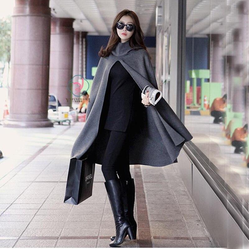 Automne Manteaux Long Pour Femmes Casual Grande Et Hiver Taille rPqCrw