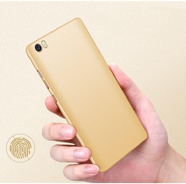 Ultra-Thin Pure Color Xiaomi Mi Note Case Hard Plastic Matte Back Cover 360 Full Protection Housing For Xiaomi Mi Note Pro Case